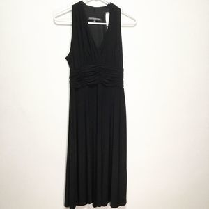 Jones Wear Black Sleeveless Dress